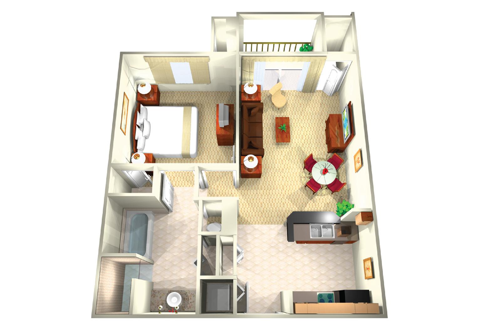 Two Bedroom Suite Resort in Orlando | The Point Resort